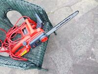 Sovereign Corded Electric Chainsaw 36cm - 1800W. chain saw