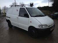 LOW MILEAGE NISSAN VANETTE 2.3 DIESEL CARGO VAN WITH TWIN SIDE DOORS