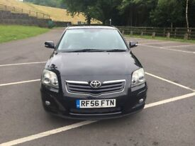 Toyota Avensis t3-x d4d Turbo Diesel 2.0cc 6 speed 125bhp 5 door h/back 56/2006 3 former keepers sam