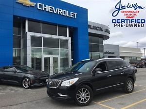 2016 Buick Enclave Leather AWD ROOF HEATED STEERING WHEEL!!!
