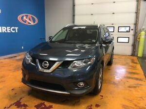 2015 Nissan Rogue SL NEW TIRES/AWD/ LEATHER/ PANO ROOF/ NAVI!