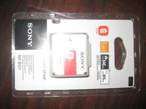 Sony NP-BG1 Type G Lithium Ion Rechargeable Battery Pack for Sony W Series, T20, T100, N2, N1, H7 & H9 Digital Camera
