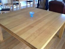 Solid Mountain Ash Dining Table Square Bairnsdale East Gippsland Preview