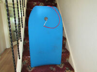 Body board, barely used and now surplus to requirements.
