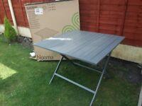 Batang folding table