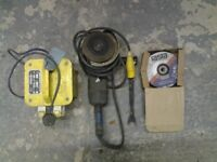 Elu disc cutter/grinder 300m/m 110 volt with tools and box 18 300m/m discs