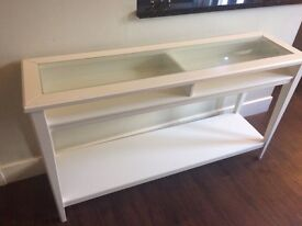 Taken: Cream console table. Thanks for all interest.