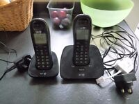 BT 1000 telephones x 2