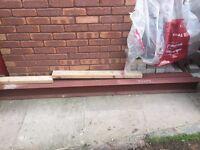 two steel lintels