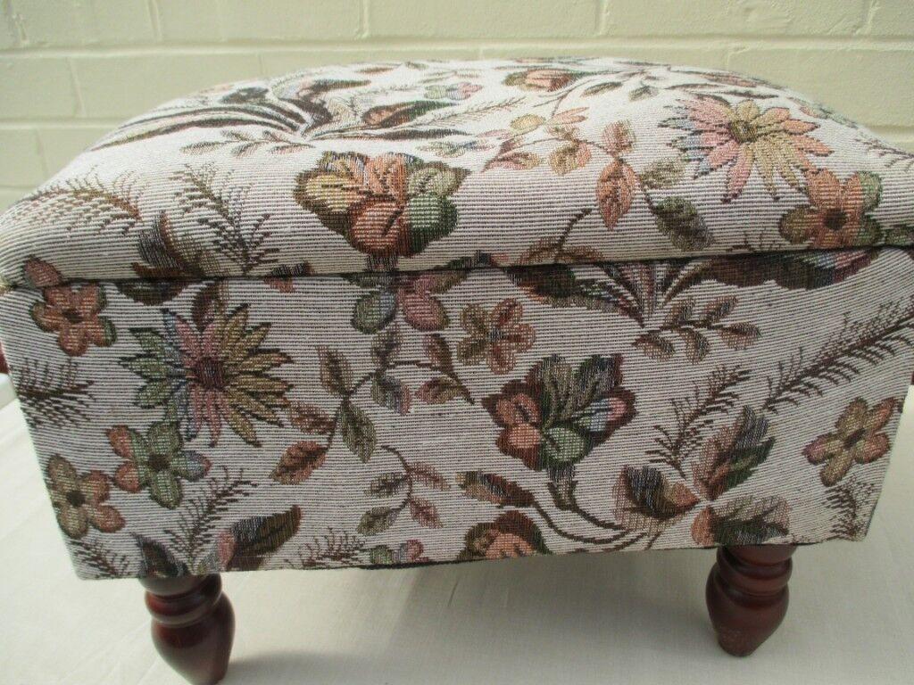 Cute Footstool With Storage Under Lid In Ramsgate Kent Gumtree