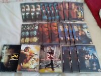24 complete box set including live another day & redemption dvds