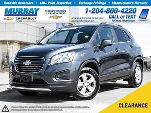2016 Chevrolet Trax LT *All Wheel Drive, Remote Start, OnStar*