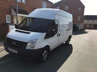 FORD TRANSIT 115 T350 2.4 LWB HIGH TOP 2010 WHITE (NO VAT NO VAT)