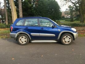 TOYOTA RAV 4 GX 2.0 VVTI EDIITON, 5 SPEED MANUAL, LOW MILES, LOVELY LOOKING JEEP, BARGAIN