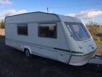 ELDDIS TORNADO 1997 year 4 berth