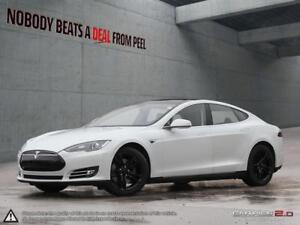 2014 Tesla Model S 85 19Whls, NEW Tires, Pwr Sunroof, HiFi Sound