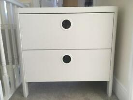 Ikea Busunge chest of 2 drawers