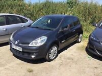 2007 NEW SHAPE RENAULT CLIO SPORTY HATCH IN GREY ALLOYS CD RED SPORTS TRIM LOVELY DRIVER PX CONSIDER