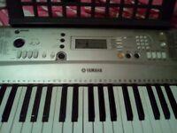 YAMAHA Electronic Keyboard inc. music stand