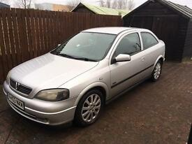 Vauxhall Astra Sxi 3dr 1.6 **New timing belt**