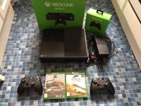 Xbox One 500GB 2 controllers 15 GAMES