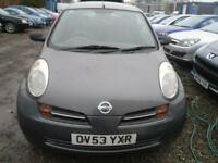 NISSAN MICRA 1.2 S 3dr MOT END JUNE 2018, IDEAL STARTER CAR. TRADE-IN TO CLEAR (grey) 2003