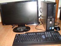 Dell Optiplex 755 SFF, 160GB HDD, Intel Core Duo 2.53GHz, 3GB RAM on Win7 Professional 64 bit