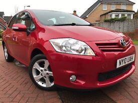 *12 MTHS WARRANTY*ONLY 47,000 MILES*1 FORMER KEEPER*2010(10)TOYOTA AURIS 1.6 V-MATIC TR 5DR HATCH*
