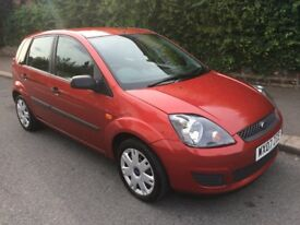 2007 07 FORD FIESTA STYLE CLIMATE 1.6 PETROL AUTOMATIC 5 DOOR 46K FULL SERVICE HISTORY 2 OWNER