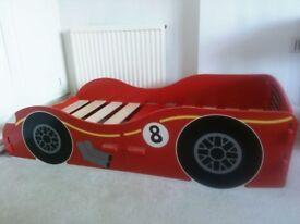 Junior Red Racing Car Bed