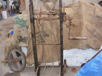 antique winched bed sack cart for sale