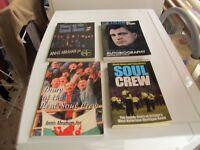 CARDIFF CITY FC SOUL CREW HOOLIGAN BOOKS