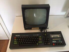 Vintage Retro 1980's Amstrad CPC64 ~ 64k Computer & GT 64 Monitor