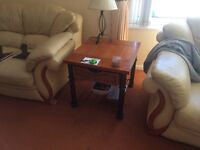 2 WOODEN TABLES FOR SALE