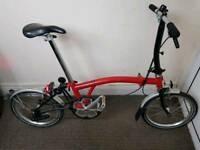 Brompton S1L Single Speed Folding Bike