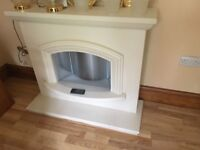 Composite Electric Fireplace