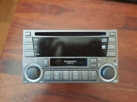 Double DIN Car CD Player / Stereo / Radio / Cassette (Silver)