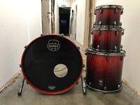 Professional Mapex Saturn IV Drum Kit For Sale