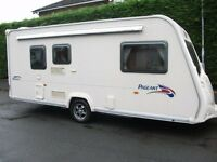 **BAILEY PAGEANT MONARCH STUNNUNG 2 BERTH,2007 TOURING CARAVAN WITH AWNING**