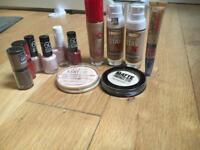 job lot of makeup