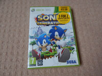 XBOX 360 Sonic generations game