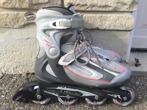 Like NEW Bladerunner Fitness Inline Skates 78mm/78A Women's Size 10