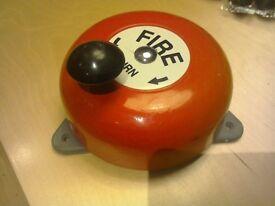 Used rotary manualn fire alarm
