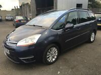 CITROEN C4 GRAND PICASSO EXCLUSIVE 2.0 HDI AUTOMATIC 7 SEATER
