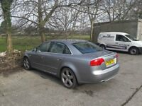 Audi A4 S-Line 170 TDI 6 Speed manual.