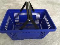 6 x 30L Blue Baskets