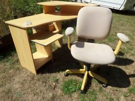 Computer Chair with adjustment