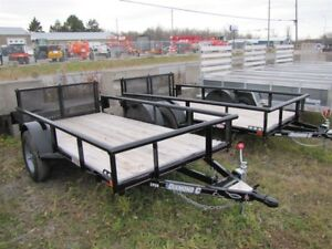 2015 Diamond C 5' x 10' UTILITY TRAILER