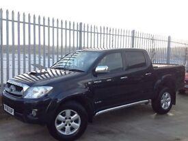 2011 TOYOTA HILUX D/C 3.0 D4-D INVINCIBLE AUTO 4X4 BLACK ++ LOW MILEAGE!!! ++ FSH!!! ++