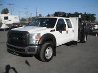 2012 Ford F-550 XL SD Crew Cab Service Truck Flat Deck 4WD w/ Fi Vancouver Greater Vancouver Area Preview